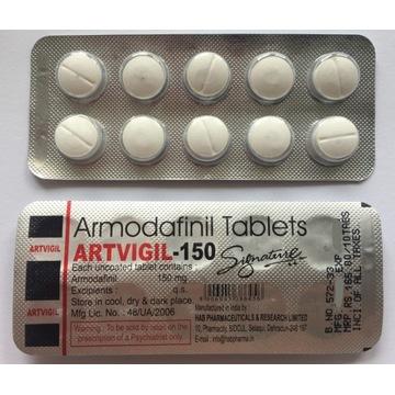 Artvigil 150mg 100 tabletek armodafinil
