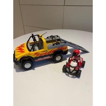 PLAYMOBIL pick-up z quadem, samochód 4228