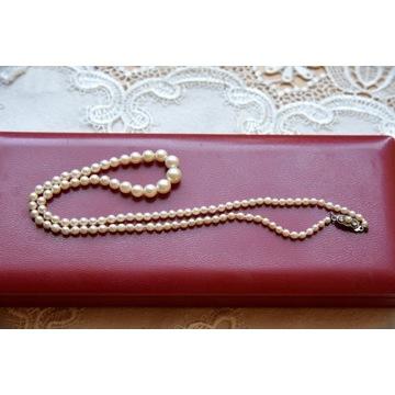 Naszyjnik z pereł - antyk z certyfikatem