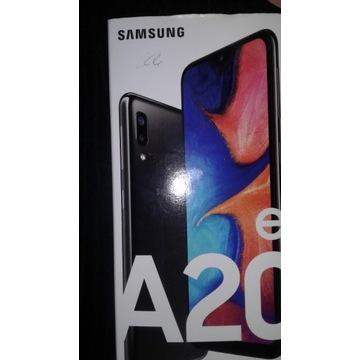Pudełko telefon Samsung A20