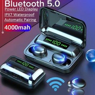 Bezprzewodowe słuchawki douszne TWS Bluetooth 5.0