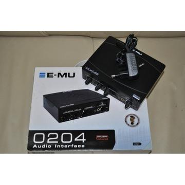 E-MU 0204 AUDIO INTERFACE