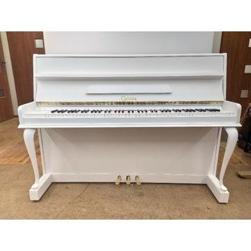 Białe pianino Calisia Chippendale- stan idealny!!!