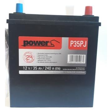 Akumulator P35PJ Power 12V/ 35Ah/ 240A Nowy
