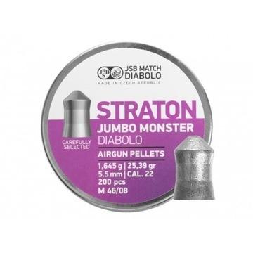 Śrut diabolo JSB Jumbo Monster Straton 5,51 mm 200