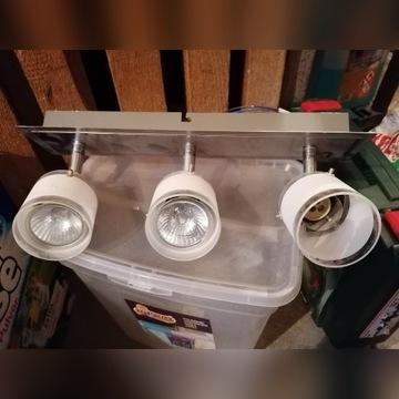 Lampa 3 żarówki 35W OBI kuchnia/łazienka