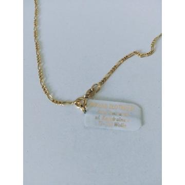 Złoty łańcuszek pr.585 figaro