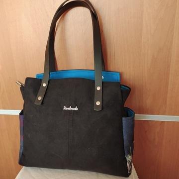 Torebka hand made typu  tote bag