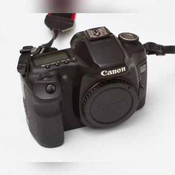 Aparat cyfrowy body Canon EOS 50D zestaw