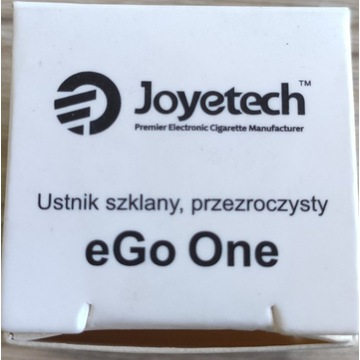 Ustnik szklany przezroczysty Joyetech eGo One