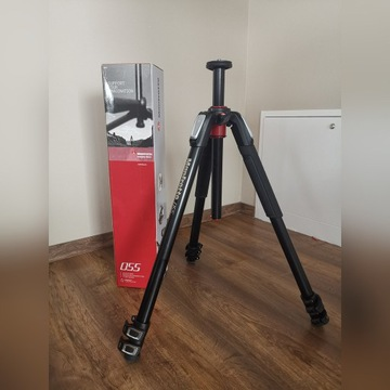 Manfrotto MT055XPRO3 na Gwar. Statyw 170cm do 9kg