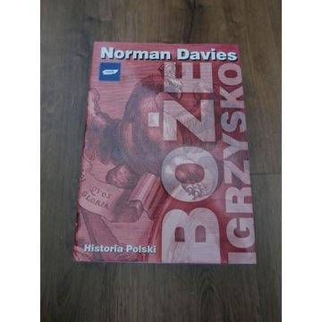 Norman Davies – Boże igrzysko hist.pol. (jak nowa)