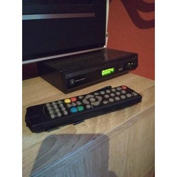 Dekoder DVB-T Cyfrowa Naziemna Cabletech Z Pilotem