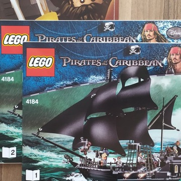 Lego 4184 Black Pearl Pirates of Caribbean UNIKAT