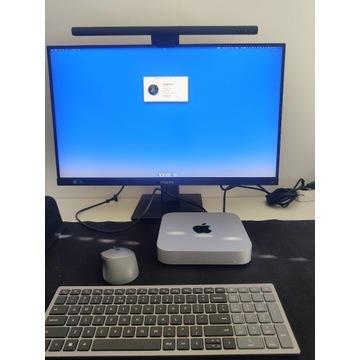 """Mac Mini M1 8/256 + monitor 27"""" 4k + klaw. i mysz"""