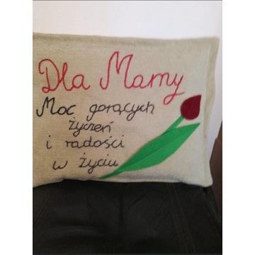 Poduszka dla Mamy, handmade, Dzień Matki