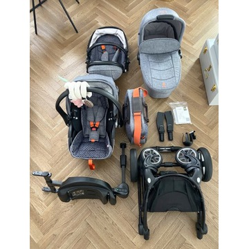 Wozek Kiddy Evostar Limited 3w1+Fotelik Evoluna