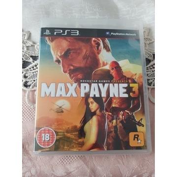 Max Payne3  ps3 w stanie bdb Polska wersja