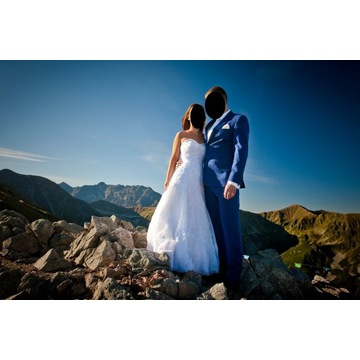 Suknia ślubna firmy AMY LOVE - caprice (biały)