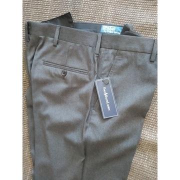 Polo Ralph Lauren Made in Italy spodnie wełna