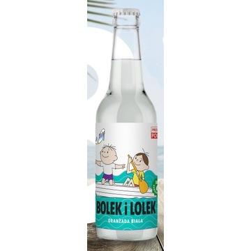 Bolek i Lolek Oranżada Biała 0,33 l