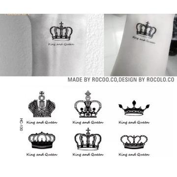 Tatuaż wodoodporny tymczasowy korony małe