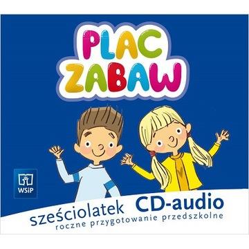 PLAC ZABAW KOMPLET CD AUDIO 6-LATEK WSiP