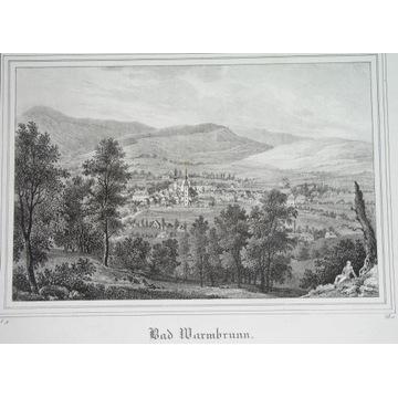 1840 ORYGINAŁ JELENIA GÓRA HIRSCHBERG CIEPLICE