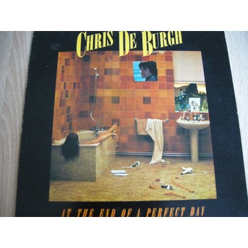 CHRIS DE BURGH - AT THE END OF A PERFECT DAY  - LP