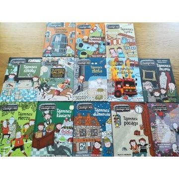 Biuro detektywistyczne lassego i mai -13 książek