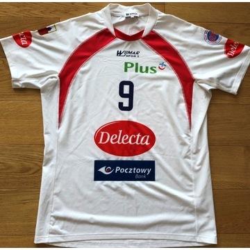 Oryginalna koszulka Delecty Bydgoszcz- W.Kozłowski