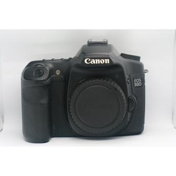 Canon EOS 50D + 50mm 1.8 Mały przebieg