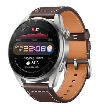 Smartwatch HUAWEI Watch 3 Pro Classic Brązowy