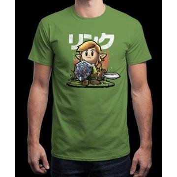 Nowy T-shirt firmy qwertee - Link Awakening