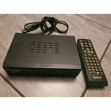Dekoder telewizji naziemnej Canva DVBT444 HDMI USB