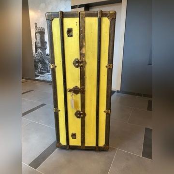 Skrzynia zabytkowa (kufer,walizka) odrestaurowana