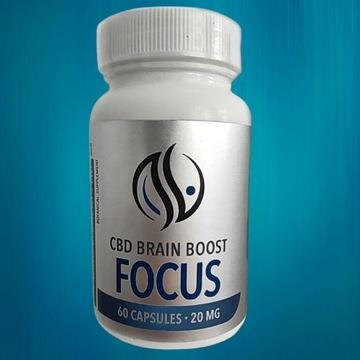 CBD Brain Boost Focus| Suplement Botaniczny 20mg