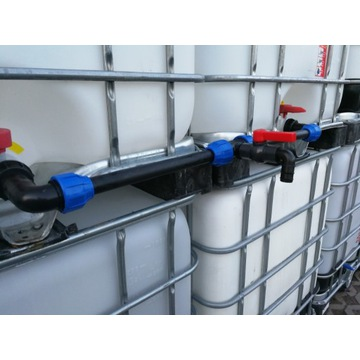 łącznik IBC zestaw łączący zbiorniki 1000 mauzer