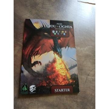 Pieśń Lodu i Ognia podręcznik RPG + starter RPG