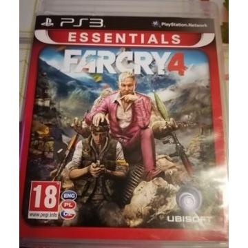 Gra FarCry4 na konsole PS3 wersja PL stan B.Dobry