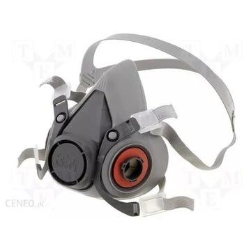 Maska półmaska gazowa 3M 6200+filtry 6059