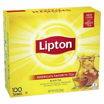 Herbata Liton Black Tea 100 torebek z USA
