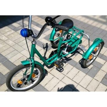rower rowerek dla dzieci 3-kołowy rehabilitacyjny