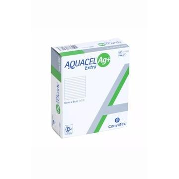 AQUACEL Ag Extra Opatrunek przeciwbakteryjny 10st
