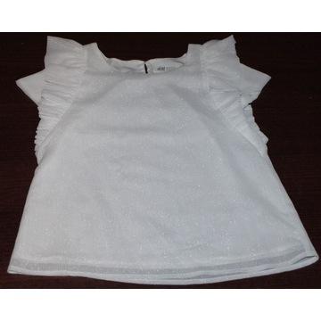 Nowa Koszulka koszula H&M biała, 134