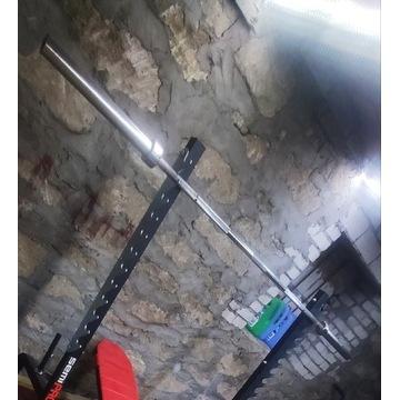 Gryf olimpijski prosty fi 50mm 220 cm sztanga