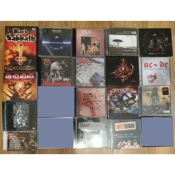 Zestaw 17 płyt CD Metal / Rock
