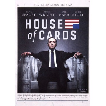 HOUSE OF CARDS SEZON1 [4DVD]