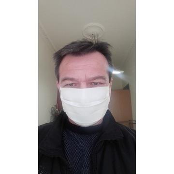 Maseczka maska bawełniana 2 warstwy