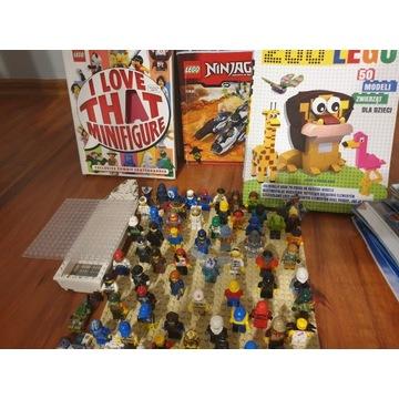 Lego likwidacja kolekcji figurki, ksiazki, itd.